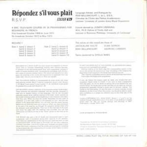 No Artist - Répondez S'il Vous Plaît - Vinyl - LP