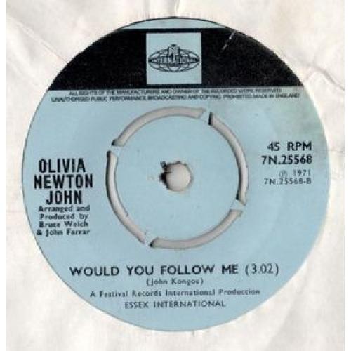 "Olivia Newton-John - Banks Of The Ohio - 7'' - Vinyl - 7"""