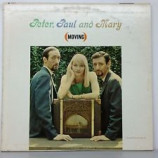 Peter, Paul & Mary - (Moving) - LP, Album, Mono