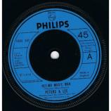 Peters & Lee - Hey, Mr Music Man - 7''
