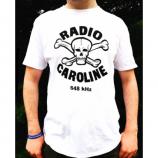 Radio Caroline - Skull & Crossbones 648 T-shirt