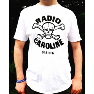 Radio Caroline - Skull & Crossbones 648 T-shirt - Books & Others - t-shirts