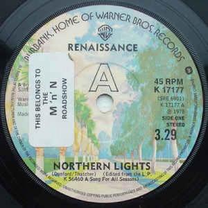 Renaissance - Northern Lights - Vinyl - 45''