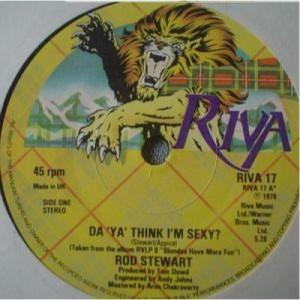"""Rod Stewart - Da'Ya' Think I'm Sexy? - 7''- Single, Sol - Vinyl - 7"""""""