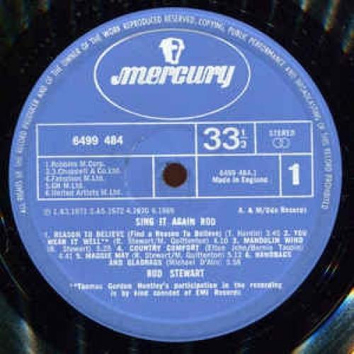 Rod Stewart - Sing It Again Rod - Vinyl - LP