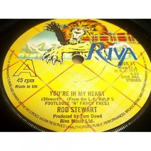 """Rod Stewart - You're In My Heart - 7''- Single - Vinyl - 7"""""""