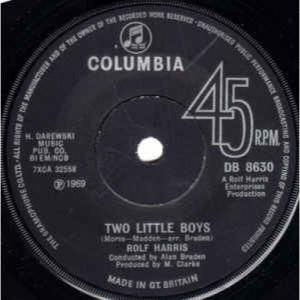 Rolf Harris - Two Little Boys - Vinyl - 45''