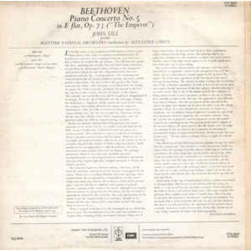 """Scottish National Orchestra,Alexander Gibson-Beeth - Piano Concerto No. 5 """"Emperor"""" - Vinyl - LP"""
