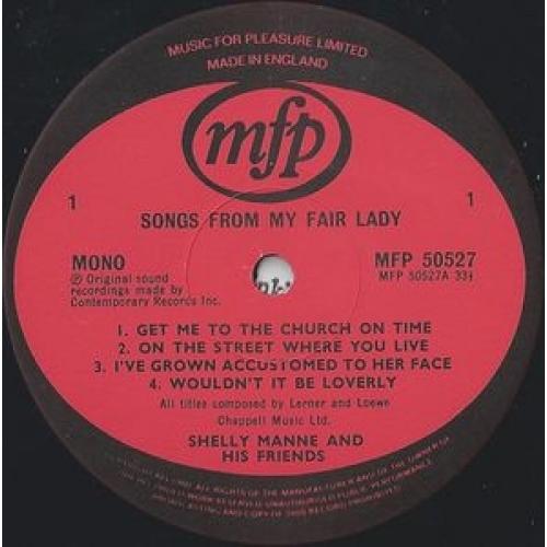 Shelly Manne & His Friends  - My Fair Lady - LP, Album, RE - Vinyl - LP