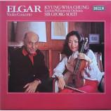 Sir Edward Elgar / Kyung-Wha Chung,  - Violin Concerto - LP