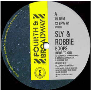 """Sly & Robbie - Boops ( Here To Go ) - Vinyl - 12"""""""