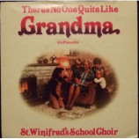 St. Winifred's School Choir - There's No One Quite Like Grandma - 7''- Single, Yel
