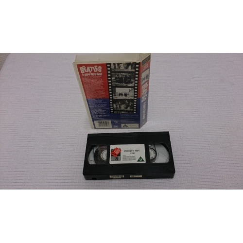 The Beatles - A Hard Day's Night - VHS - VHS