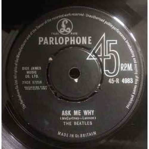 The Beatles - Please Please Me - Vinyl - 45''