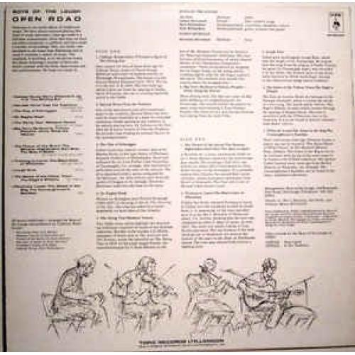 The Boys Of The Lough - Open Road - Vinyl - LP