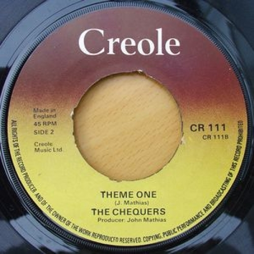 """The Chequers - Rock On Brother - 7''- Pus - Vinyl - 7"""""""