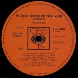 The Clancy Brothers & Tommy Makem - In Concert - LP, Album - Vinyl - LP