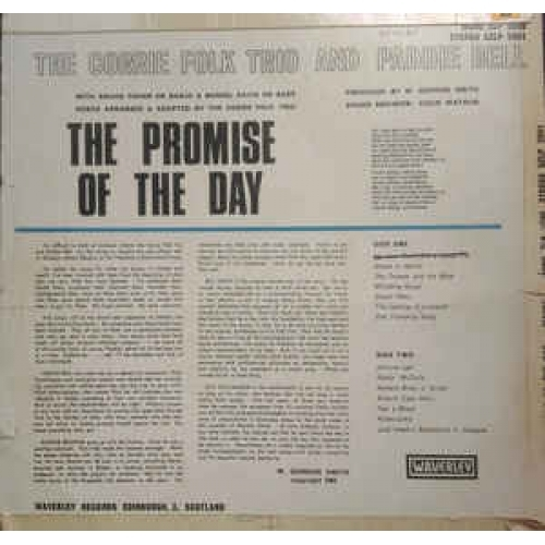 The Corrie Folk And Paddie Bell - The Promise Of The Day - Vinyl - LP