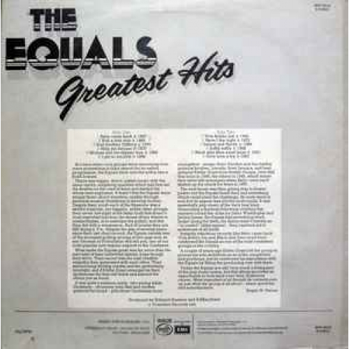 The Equals - The Equals Greatest Hits - Vinyl - LP