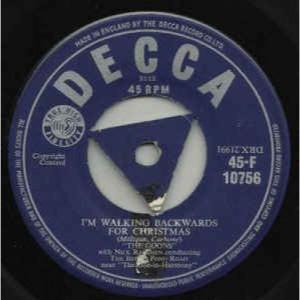 The Goons - I'm Walking Backwards For Christmas - Vinyl - 45''
