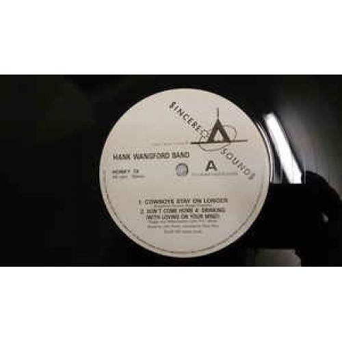 The Hank Wangford Band - Cowboys Stay On Longer - Vinyl - LP