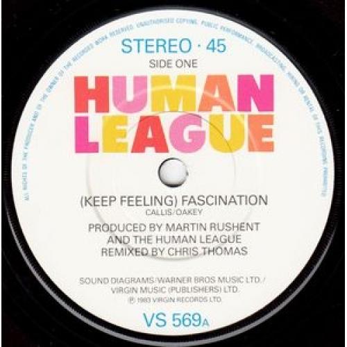 """The Human League - (Keep Feeling) Fascination - 7''- Single - Vinyl - 7"""""""