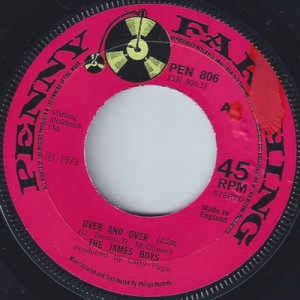 The James Boys - Over And Over - Vinyl - 45''