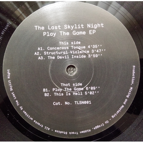 The Last Skylit Night - Play The Game - Vinyl Record - EP