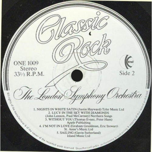 The London Symphony Orchestra and the Royal Choral - Classic Rock - Vinyl Record - LP Gatefold