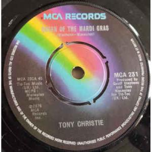 "Tony Christie - Queen Of The Mardi Gras - Vinyl - 7"""