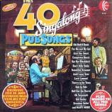 Unknown Artist - 40 Singalong Pub Songs - LP, Comp, Ltd, Gat