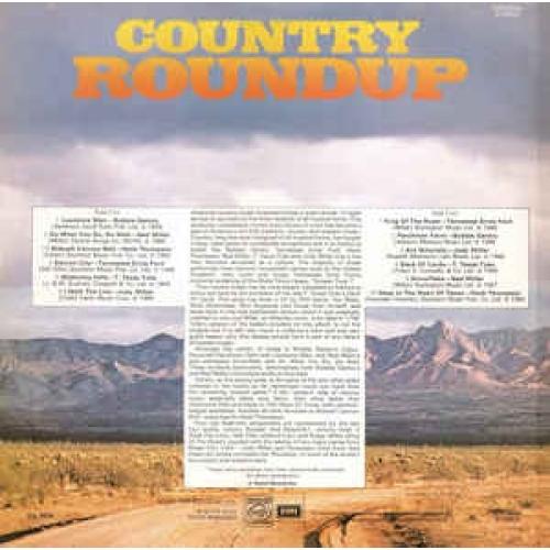 Various - Country Roundup - Vinyl - LP