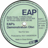 Various - EAP's Demonstration Disc - 7''