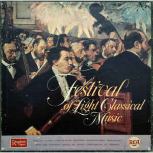 Various - Festival Of Light Classical Music - Vinyl - LP Box Set