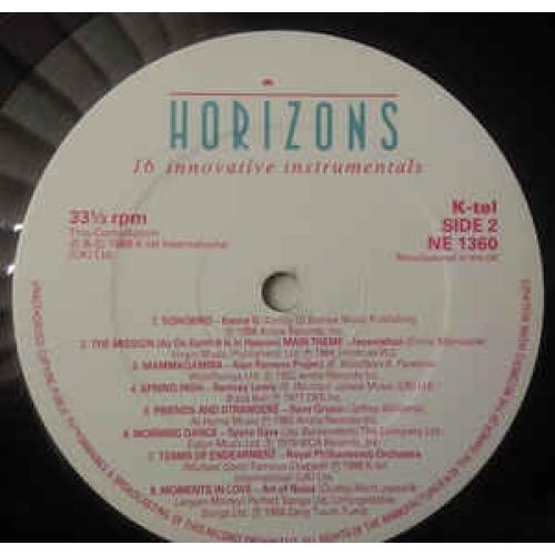 Various - Horizons - Vinyl Record - LP