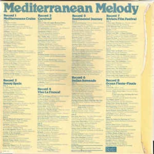 Various -  Mediterranean Melody - Vinyl - LP Box Set