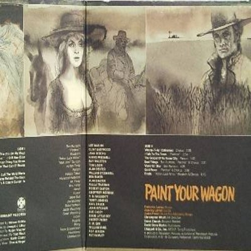 Various - Paint Your Wagon (Music From The Soundtrack) - LP, Gat - Vinyl - LP