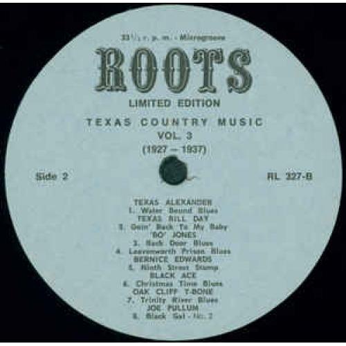 Various - Texas Country Music Vol. 3 - Vinyl - LP