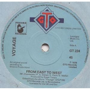 """Voyage - From East To West - 7''- Single - Vinyl - 7"""""""