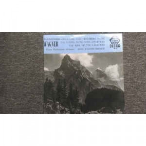 Wagner/Vienna Philharmonic Orchestra/Hans Knappert - Tannhauser-Overture And Venusberg Music / The Flying Dutchma - Vinyl - LP