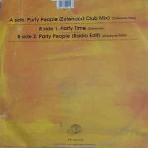 """Word For Word - Party People - Vinyl - 12"""""""
