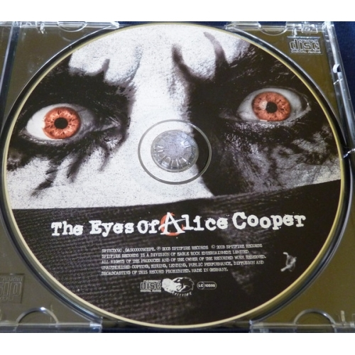 Alice Cooper - The Eyes Of Alice Cooper - CD, Album, Red - CD - Album