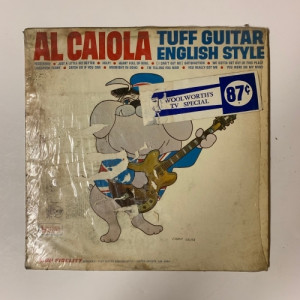Al Caiola - Tuff Guitar English Style - Vinyl - LP