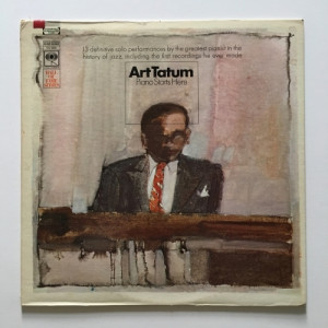 Art Tatum - Piano Starts Here - Vinyl - LP