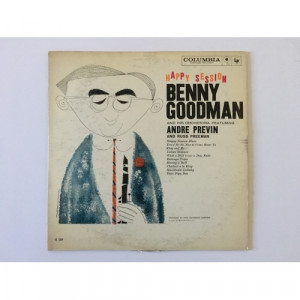Benny Goodman & His Orchestra - Happy Session - Feat. Andre Previn & Russ Freeman - Vinyl - LP