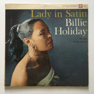 Billie Holiday - Ray Ellis and His Orchestra - Lady In Satin - Vinyl - LP