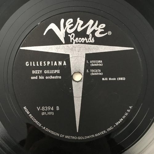 Dizzy Gillespie And His Orchestra - Gillespiana - Vinyl Record - LP