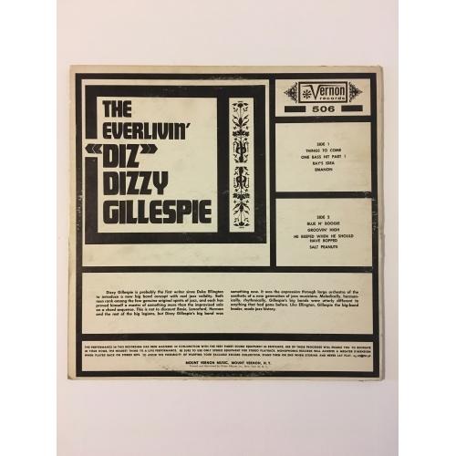 "Dizzy Gillespie - The Everlivin' ""Diz"" - Vinyl - LP"