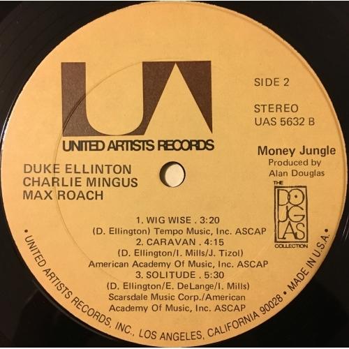Duke Ellington, Charlie Mingus, Max Roach - Money Jungle - Vinyl - LP