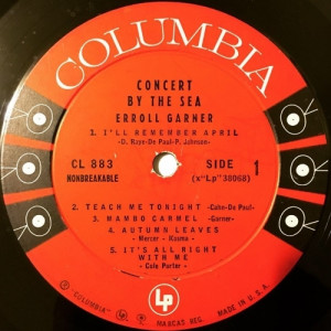 Erroll Garner - Concert By The Sea - Vinyl - LP